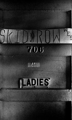 SKID ROW WEST. OK, this made me smile.