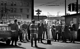 The Salvation Army cared for most of the homeless alcoholics I met on Skid Row at one time or another. There were very few other resources available.