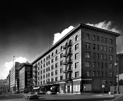 The Milner Hotel. In the late 1960s, the redevelopment of Skid Row area was a political battle. Some politicians and community groups objected to the Yerba Buena Project. They argued that several thousand low-income residents would be losing their cheap homes.