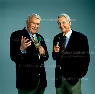 Photo of John Madden and Pat Summerall