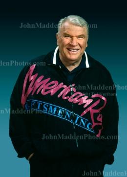 Photo of John Madden (Circa 1995)