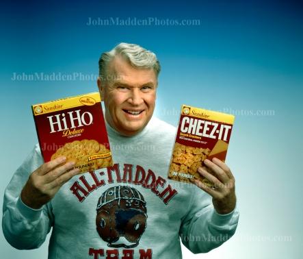 John holding Cheez-it's